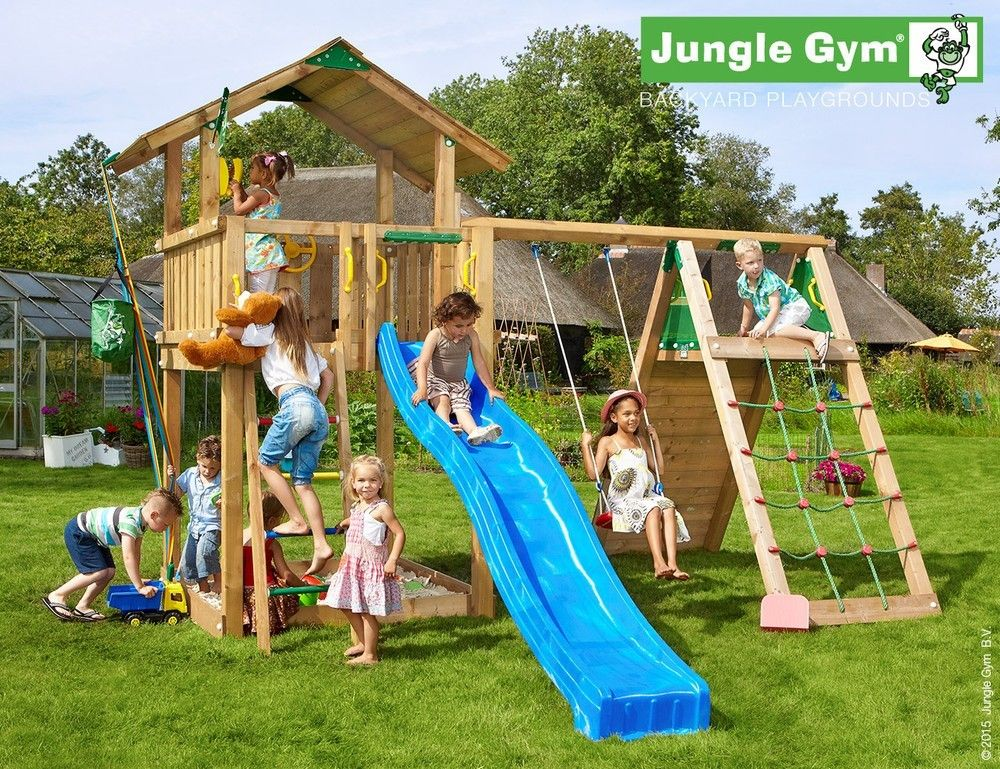 jungle gym chalet climb extra nordinova webshop. Black Bedroom Furniture Sets. Home Design Ideas
