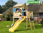 JUNGLE GYM PLAYHOUSE L CU CASUTA DIN COPAC