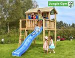 JUNGLE GYM PLAYHOUSE XL CU CASUTA DIN COPAC