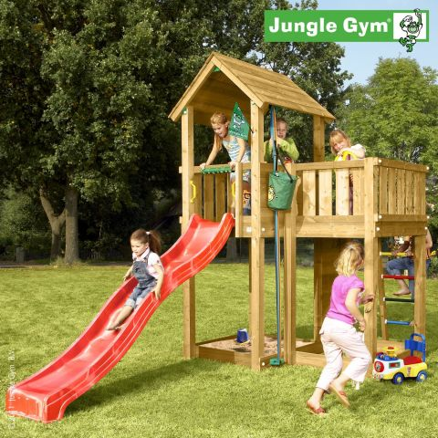 loc de joaca jungle gym villa tobogan