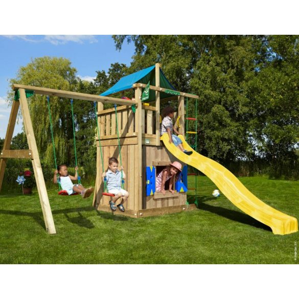 JUNGLE GYM LODGE-PLAYHOUSE-SWING
