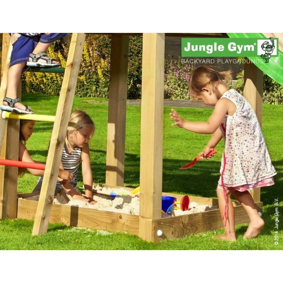 JUNGLE GYM MANSION-PLAYHOUSE-SWING