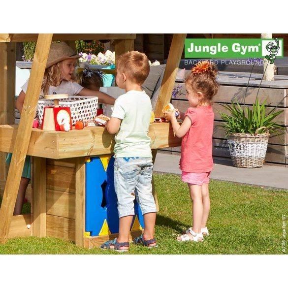 JUNGLE GYM MANSION-MINIPICNIC-MINIMARKET