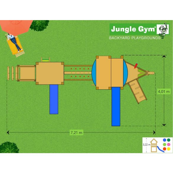 JUNGLE GYM MEGA 11