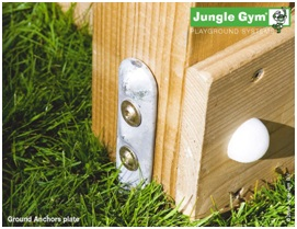 Ancorare corecta beton turn Jungle Gym